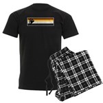 Bear Pride Flag Men's Dark Pajamas