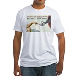 The Willing Participant Fitted T-Shirt