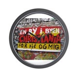 Copenhagen Christiania Wall Clock