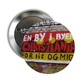 "Christiania Copenhagen 2.25"" Button (10 pack)"