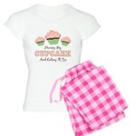 Funny Cupcake Women's Light Pajamas