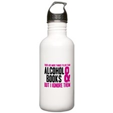 There Are More Things To Life Water Bottle