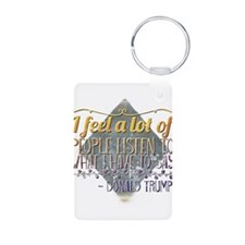American Star Party Name Tag Earring Circle Charm