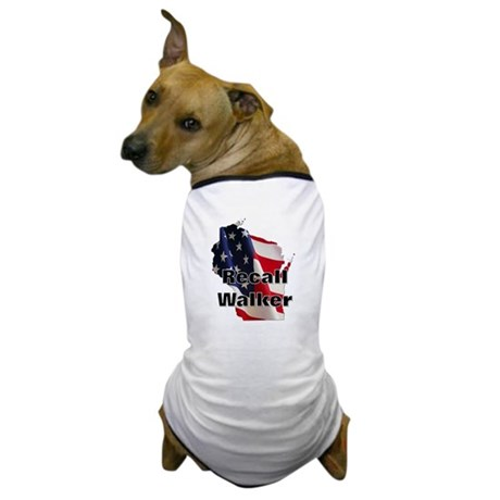 Solidarity - Union - Recall W Dog T-Shirt