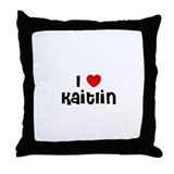 I * Kaitlin Throw Pillow