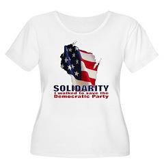 Solidarity - Union - Recall W Women's Plus Size Sc