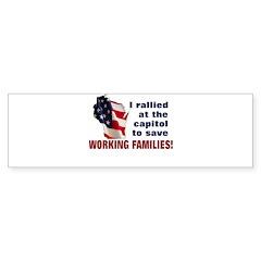 Solidarity - Union - Recall W Sticker (Bumper 10 p