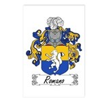 Romano Coat of Arms Postcards (Package of 8)