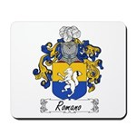 Romano Coat of Arms Mousepad