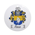 Romano Coat of Arms Ornament (Round)