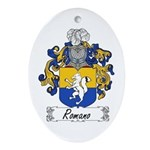 Romano Coat of Arms Oval Ornament