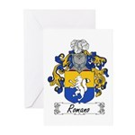 Romano Coat of Arms Greeting Cards (Pk of 10)