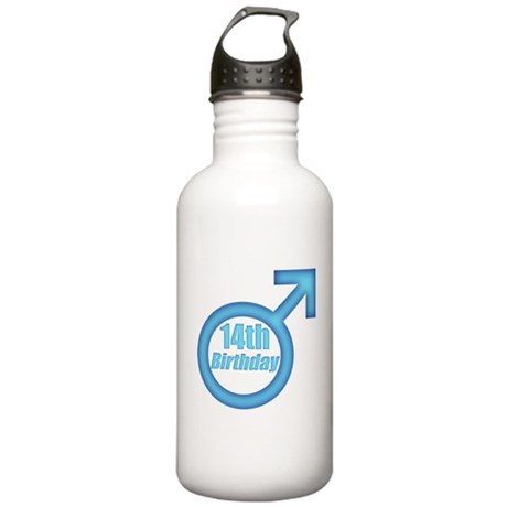 14th Birthday Stainless Water Bottle 1.0L