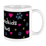 All My Grandkids Have Paws Coffee Mug