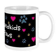 All My Grandkids Have Paws Small Mug