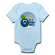 The Michigan Blueberry Infant Bodysuit