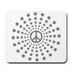 Peace Burst Mousepad