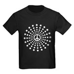 Peace Burst Kids Dark T-Shirt