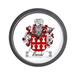 Rocchi Family Crest Wall Clock