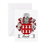Rocchi Family Crest Greeting Cards (Pk of 10)