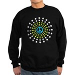Peace Burst Sweatshirt (dark)
