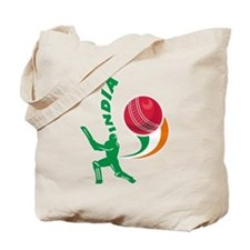 Cricket India Tote Bag