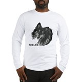 Adoring Sheltie Long Sleeve T-Shirt