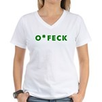 O'Feck Women's V-Neck T-Shirt