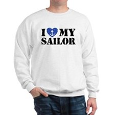 I Love My Sailor Sweatshirt