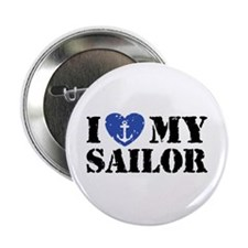 "I Love My Sailor 2.25"" Button"