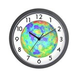 &lt;b&gt;PLANETARY SERIES:&lt;/b&gt; Venus Radar Image W.Clock