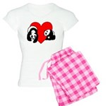 Panda Bear Love Women's Light Pajamas