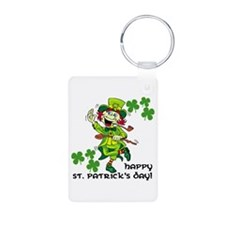 Happy St. Patrick's Day Keychains