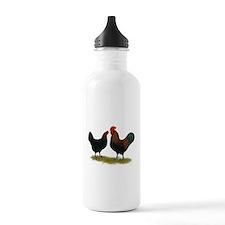 Marans Black Copper Water Bottle