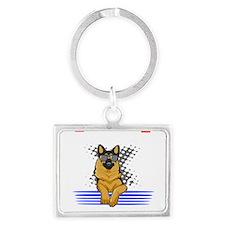 Siberian Husky sled dog Business Cards