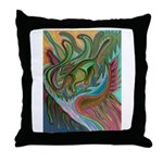 Valley Cat 42 Throw Pillow