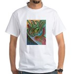 Valley Cat 42 White T-Shirt