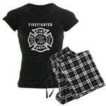 Firefighter Women's Dark Pajamas