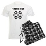 Firefighter Men's Light Pajamas