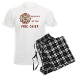 Fire Chief Property Men's Light Pajamas