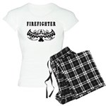Firefighter Tattoos Women's Light Pajamas