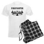Firefighter Tattoos Men's Light Pajamas