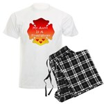 Firefighter Aunt Men's Light Pajamas