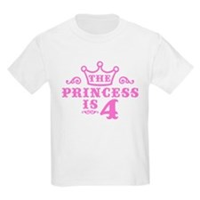 Fourth Birthday T-Shirt