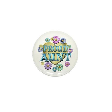 Proud Aunt Mini Button (100 pack)