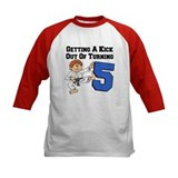Karate Birthday Five Tee