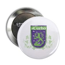 "St. Urho Coat of Arms 2.25"" Button"