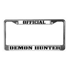 Cute Real License Plate Frame