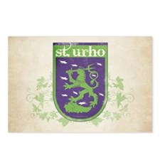 St. Urho Coat of Arms Postcards (Package of 8)