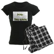 Pressley Family Historian Pajamas